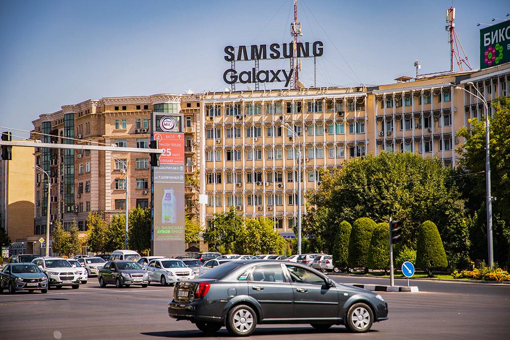 Новая крышная конструкция SAMSUNG Galaxy