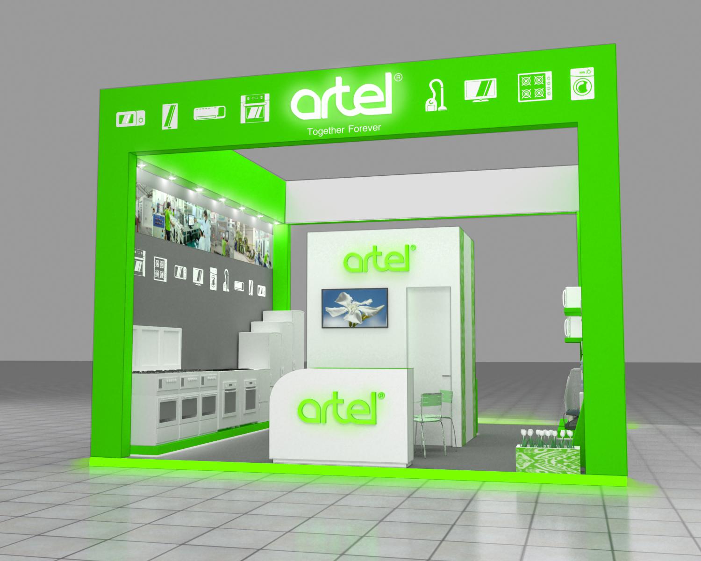"""Выставочный стенд """"Artel"""""""