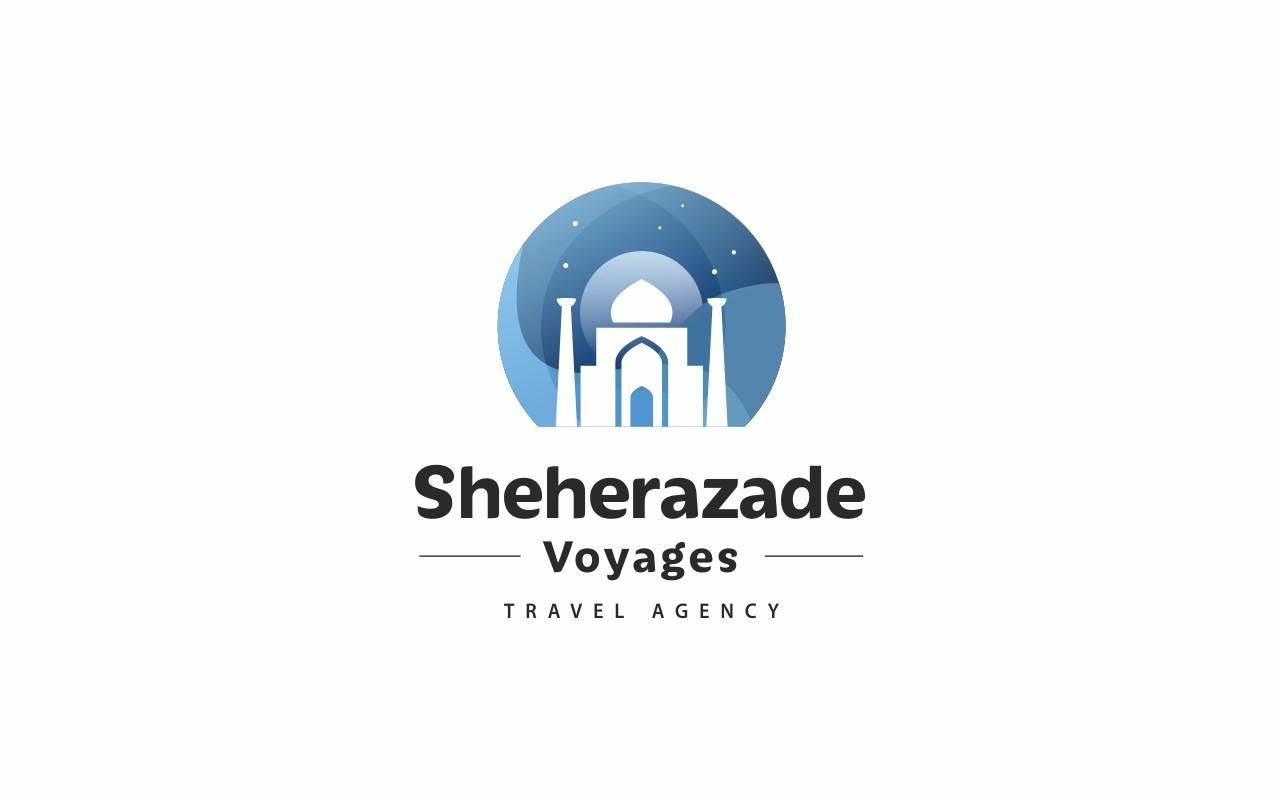 Айдентика для туристического агентства SHEHERAZADE VOYAGES