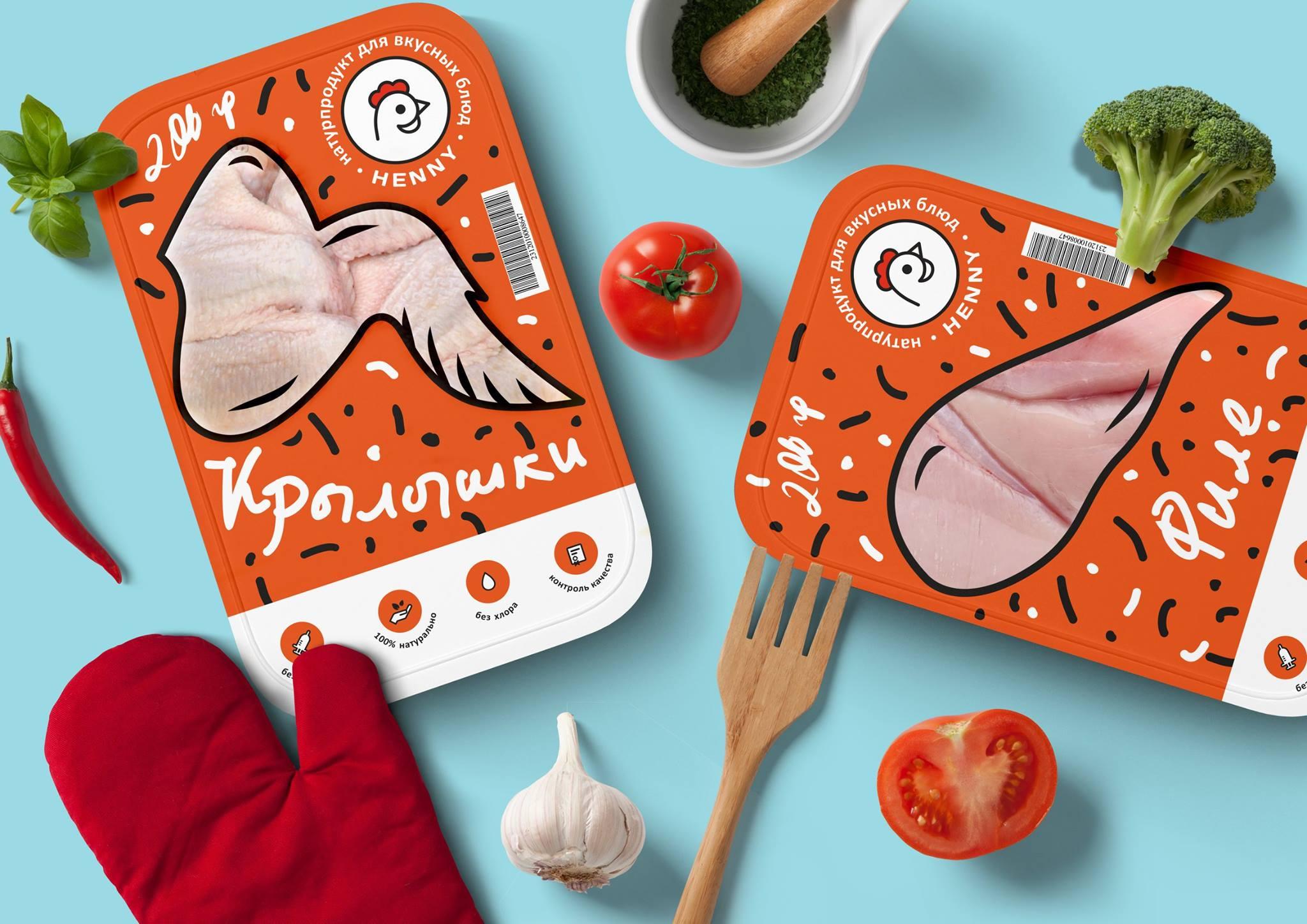 Дизайн упаковки, нейминг и логотип HENNY